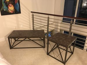 Kingstown Home - Evan Coffee Table and End Table for Sale in Miami, FL
