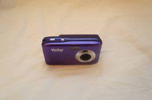Vivitar ViviCam F128 14.1MP Digital Camera - purple for Sale in Raleigh, NC