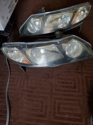 Honda civic 09 headlights and left tail light for Sale in Philadelphia, PA