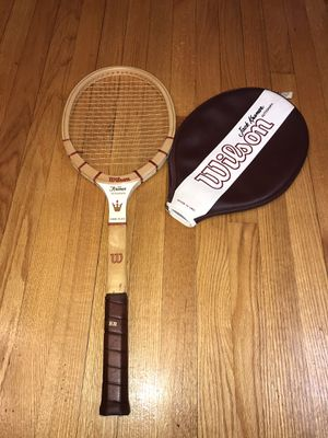 Vintage Wilson Jack Kramer Autograph Midsize Wood Tennis Racket 4 5/8 Excellent for Sale in Buckhannon, WV