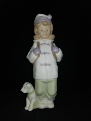 Lladro Golden Memories 1991 Daisa Friend in Tow Figurine - Perfect for Sale in Portland, OR