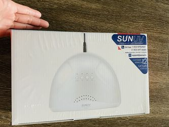UV LED Nail Lamp, SUNUV Gel Nail Light for Nail Polish 48W UV Dryer with 3 Timers for Sale in Vista,  CA