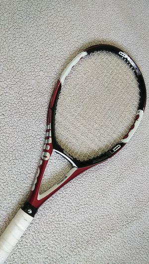 "Wilson nCode n5 Force Tennis Racket 98"" Head Strung 4 3/8 grip, Excellent for Sale in Norwalk, CT"