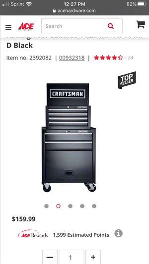 Craftsman 6 drawer toolbox for Sale in Encinitas, CA