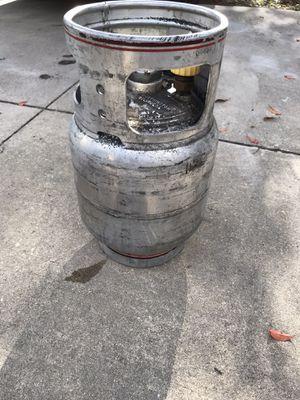 Aluminum propane tank 20 lb for Sale in Spring Hill, FL