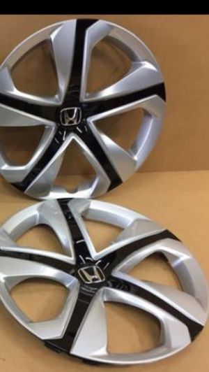 "(2) Honda Civic 16"" Original Factory OEM Genuine wheel covers hubcaps tapa de goma llanta for Sale in Miami Gardens, FL"