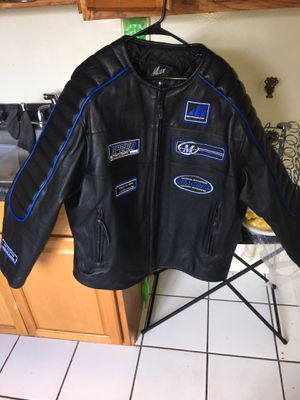 Genuine leather 2xl motorcycle jacket in great condition for Sale in Manassas, VA