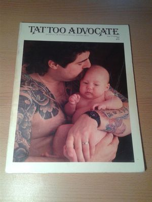 Tattoo Advocate Issue 2 Volume 1 1989 Magazine/Book for Sale in San Francisco, CA