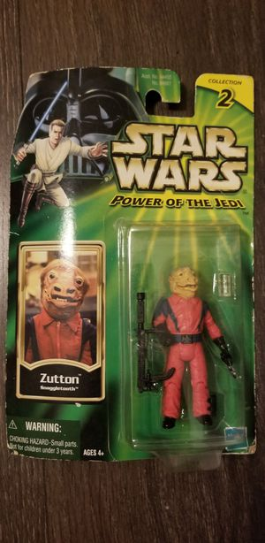 Zutton snagle tooth Starwars collectible toy for Sale in Orlando, FL