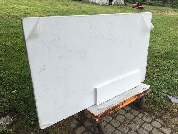 Polished White Silas stone 60x36 -