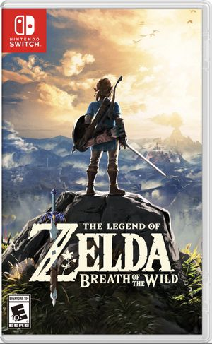 Nintendo Switch Games: The Legend of Zelda: Breath of the Wild & Animal Crossing New Horizons for Sale in Los Angeles, CA