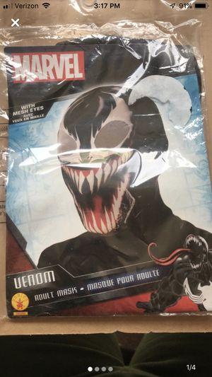Venom mask for Sale in Traverse City, MI