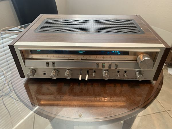 Vintage Pioneer SX-3700 stereo receiver