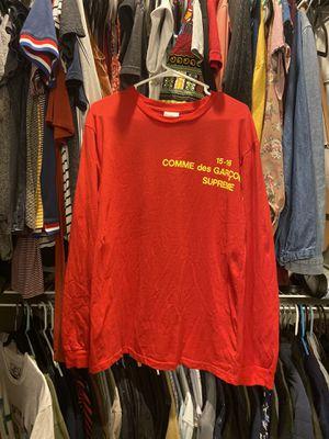 Supreme x comme des garçon shirt for Sale in Frisco, TX