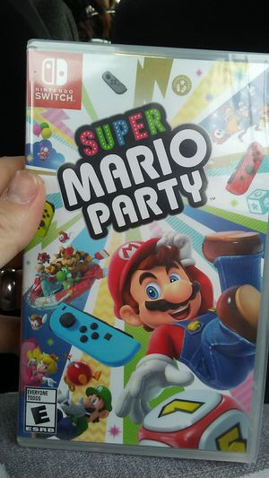 Nintendo Switch super Mario party for Sale in Rancho Cucamonga, CA
