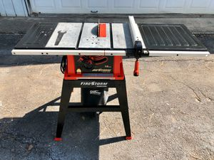 Fire storm black and decker table saw for Sale in Houston, TX
