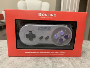 SNES Controller For Switch Super Nintendo US Version Official Online Wireless for Sale in Silver Spring, MD