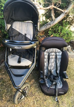Crago baby stroller with car seat for Sale in Federal Way, WA