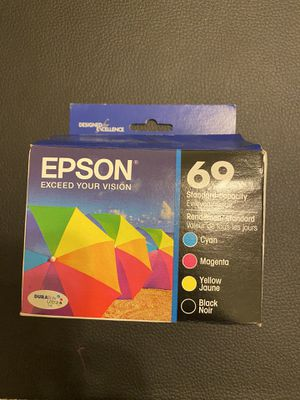 Epson printer ink 69. Never used or opened for Sale in Homestead, FL