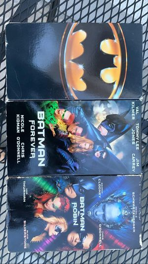 Bat man VHS for Sale in Downey, CA