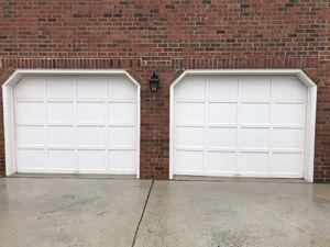 2 9x7's garage Doors for Sale in Raleigh, NC