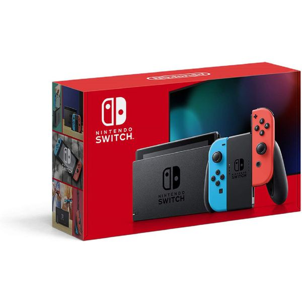 Nintendo Switch console Red Blue Joy Con NEW