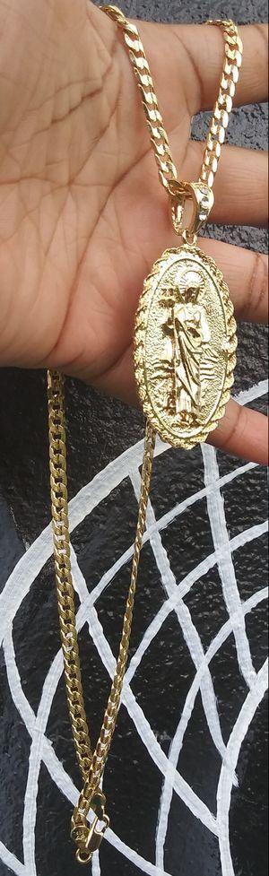 🚚💨I deliver🚀I Ship...😍😍14kt 💎Gold filled 💦 Necklace and charm 🌟🌟🌟🌟🌟 for Sale in Hollywood, FL