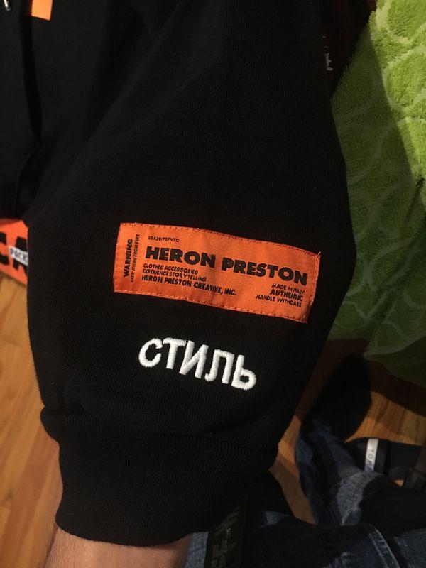 "🔥🔥🔥 HERON PRESTON ""HANDLE WITH CARE"" HOODIE"
