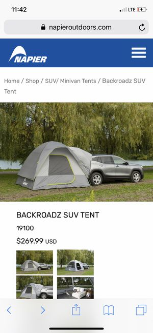Backroads SUV TENT for Sale in Tucson, AZ