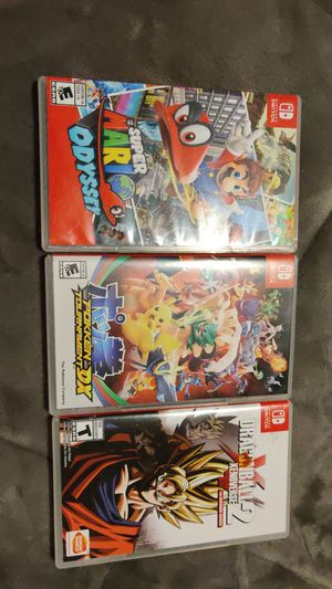 Nintendo Switch games for sale or trade for Sale in Lewisville, TX