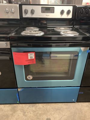 New Discounted Whirlpool Stainless Range 1yr Manufacturers Warranty for Sale in Chandler, AZ