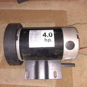 Gear Works 4 Hp Motor for Sale in St. Petersburg, FL