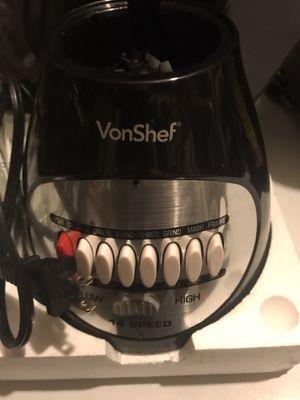 Vonshef 14 speed blender for Sale in Philadelphia, PA