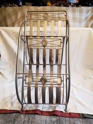 Silver Magazine Rack for Sale in Creve Coeur, MO