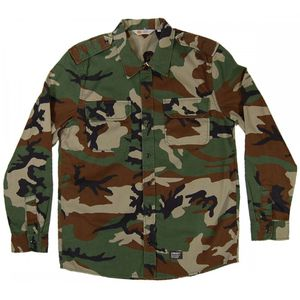 Like New Military Shirt Camo Green - size Large for Sale in Los Angeles, CA