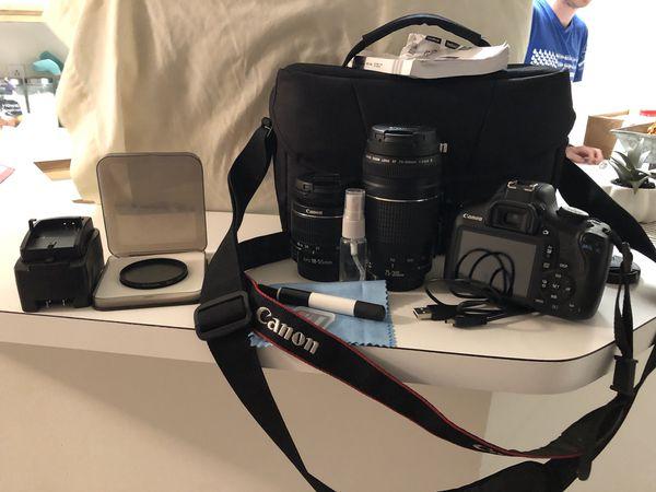 Canon t6 bundle
