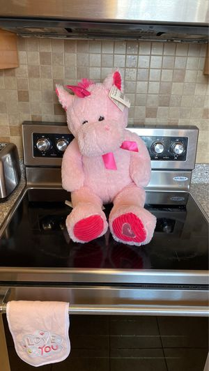 Large Pink Unicorn Plush for Sale in Bay Point, CA