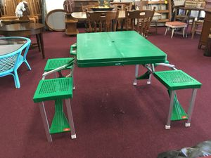 Fold up table for Sale in Big Rapids, MI