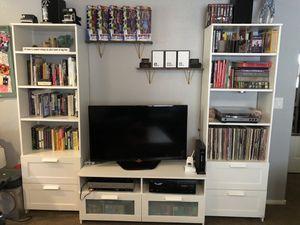 Entertainment Stand & Bookshelves for Sale in Las Vegas, NV