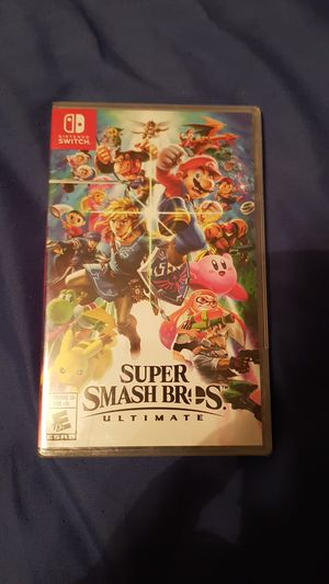 Nintendo switch Super Smash Bros Ultimate for Sale in Pearland, TX