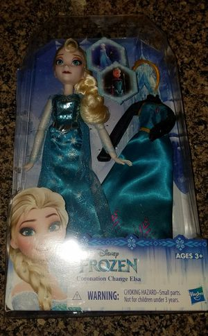 New Frozen Elsa Barbie Doll for Sale in Florence, AZ