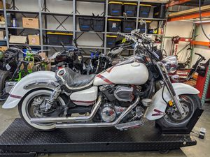 2005 Kawasaki Vulcan Classic VN1600 Motorcycle for Parts for Sale in Millbrae, CA