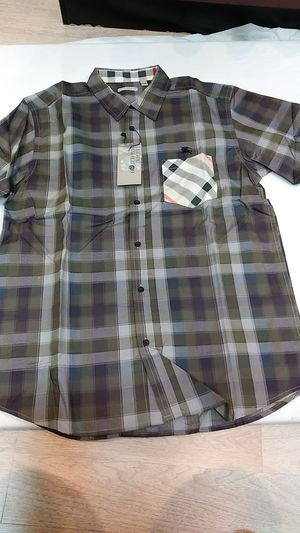 Burberry short sleeve button down for Sale in Paterson, NJ