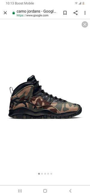 Camo 8.5 clean worn once for Sale in Riviera Beach, FL