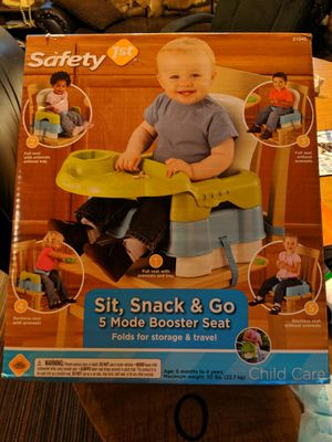 5 mode booster seat for Sale in Spring Lake Park, MN