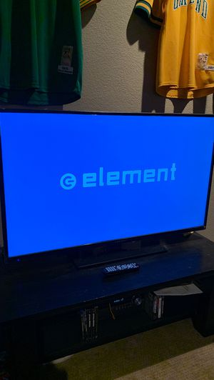 55' Element HD TV (NO ISSUES, LIKE NEW) for Sale in Modesto, CA