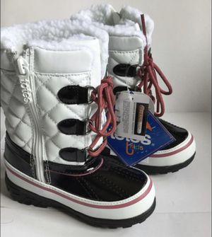 Kids rain and snow boots totes kids size 8 for Sale in Bellflower, CA