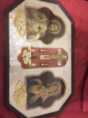 Vintage Catholic Wall Plaque for Sale in Evans, GA