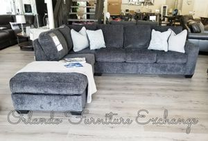 $777 FREE DELIVERY! BRAND NEW GREY SECTIONAL SOFA for Sale in Oviedo, FL