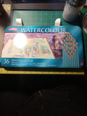 Watercolor pencils 36 set $30 for Sale in Los Angeles, CA